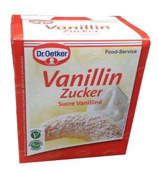 Dr. Oetker Vanillin Zucker - 1 kg - FRESH from Germany