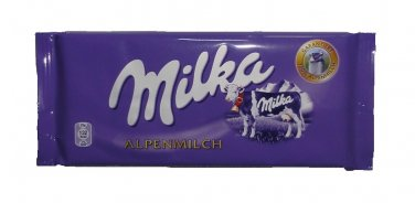 MILKA Chocolate Bar 300g - MILKA ALPENMILCH  - FRESH from Germany