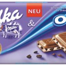 MILKA Chocolate Bar 300g - MILKA + OREO- FRESH from Germany