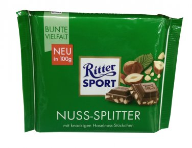 Ritter Sport -  Nuss Splitter - 100 g - from Germany- FRESH from Germany