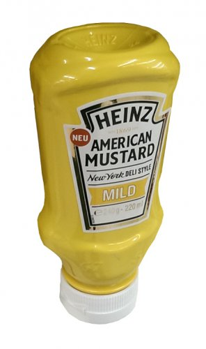 Heinz American Mustard - Mild - 240 g - FRESH from Germany