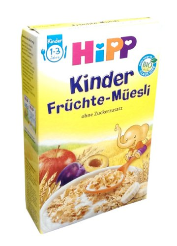Hipp Kinder Früchte Müsli  - 200 gr - from Germany- FRESH from Germany