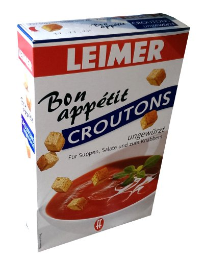 Leimer Bon Appetit Croutons � ungewürzt - 100 g  - from Germany- FRESH from Germany