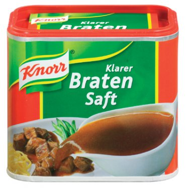 Knorr ® Klarer Bratensaft  - makes 2.5 Liter - Fresh from Germany