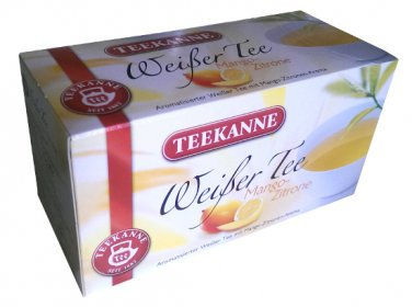 Teekanne Wei�er Tee Mango Zitrone / White Tea - 20 tea bags - FRESH from Germany