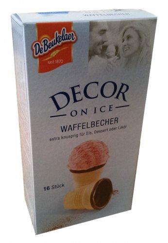 DeBeukelaer - Waffelbecher - Waffle Cups  - Ice Cream - Fresh from Germany