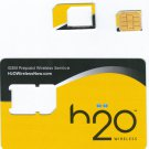 H2O Wireless gsm micro sim card