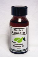 RealHeal Massage Oil (50ml) for Relieving Pain and Promoting Healing