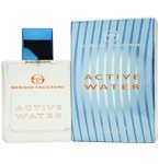 ACTIVE WATER cologne by Sergio Tacchini 3.4 oz EDT Spray