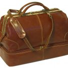 Floto Positano Grande Italian Leather Duffle bag in Vecchia Brown