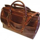 Floto Casiana Italian Leather Travel Tote bag in Vecchio Brown