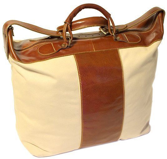 Floto Piana Tote in Tuscan Canvas