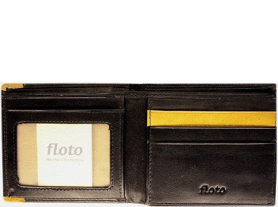 Floto Milano Billfold/Wallet in Black