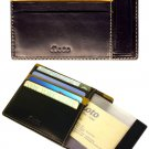 Floto Milano Card Case/Wallet in Black
