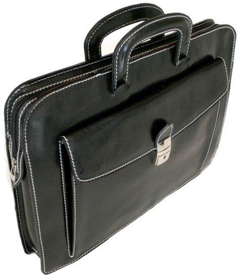Floto Milano Sleeve/Laptop Holder in Black