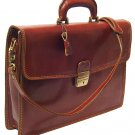 Floto Milano Briefcase in brown