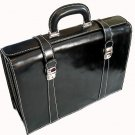 Floto Trastevere Briefcase in Black