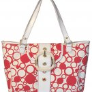 Floto Bollicine Handbag in Red