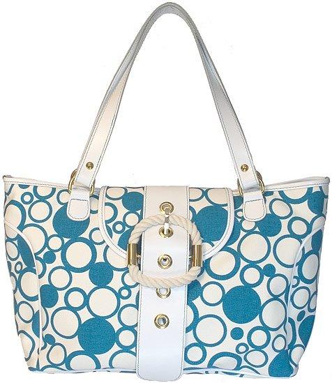 Floto Bollicine Handbag in Blue