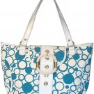 Floto Bollicine Handbag in Blue