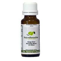 Hang-Over Morning Mend Homeopathic remedy temporarily relieves Hang-Over symptoms