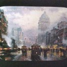 San Francisco Market Street - Size36x34 by Thomas Kinkade