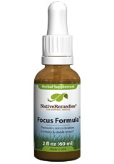 Native Remedies Focus Formula (50ml) for ADHD