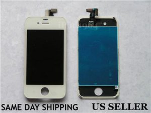 iPhone 4 GSM Replacement Display Assembly Digitizer LCD Screen White