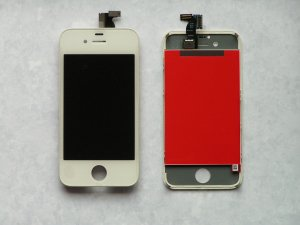 iPhone 4S Replacement Display Assembly Digitizer LCD Screen White