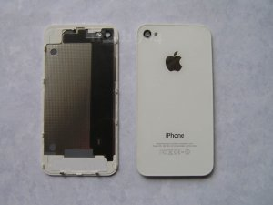 New Back Cover iPhone 4 GSM White