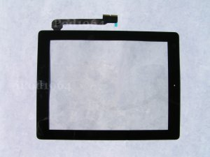 New Replacement Touch Screen Front Glass Digitizer Assembly iPad 3 Black