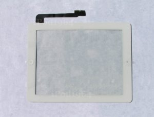 New Replacement Touch Screen Front Glass Digitizer Assembly iPad 3 White