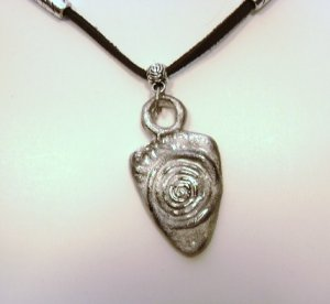 Handmade Tribal Arrow head style pendant necklace