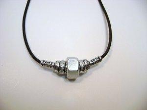 Nut - sans bolt - Suede Cord Necklace