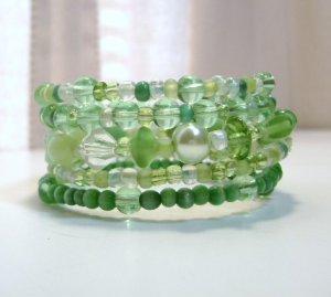 Green With Envy Wrap Bracelet
