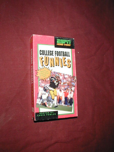 College Football Funnies - VHS ESPN Home Video (1990) Chris Fowler