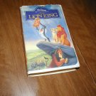 The Lion King Walt Disney's Masterpiece VHS (1995) Matthew Broderick Jeremy Irons James Earl Jones