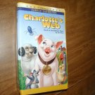Charlotte's Web - VHS Animated Paramount Pictures (1992) Debbie Reynolds Paul Lynde