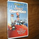 James and the Giant Peach - VHS