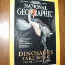 National Geographic Vol. 194, No. 1 July 1998 Dinosaurs Take Wing - The Origin of Birds