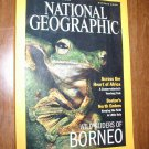 National Geographic October 2000 Vol. 198, No. 4 Wild Gliders of Borneo