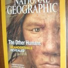National Geographic Vol. 214, No. 4 October 2008 The Other Humans: Neanderthals Revealed