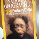 National Geographic Vol. 210, No. 5 November 2006 Found Earliest Child 3.3 million year old bones