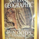 National Geographic Vol. 204, No. 5 November 2003 Guardian of the Sun God's Treasure