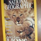 National Geographic Vol. 199, No. 6 June 2001 Asia's Last Lions