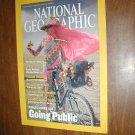 National Geographic Vol. 200, No. 2 August 2001 Public Lands are Going Public
