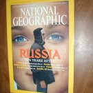 National Geographic Vol. 200, No. 5 November 2001 Russia Ten Years After