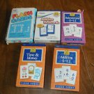 Math Flash Cards for Time & Money, Subtraction Flashcards and Addition Flash Cards (CMB1)