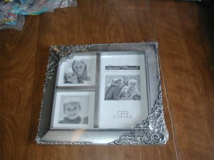 Two Special Memories Silver Picture Frames