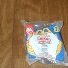 McDonald's Animal Kingdom #8 Zebra (NIP) Happy Meal Toy 1998 (GTB1)
